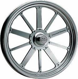 American Racing Pro Series Black Chrome Qualifier 481F Series