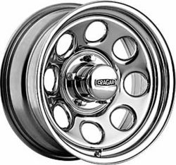 Cragar Chrome Soft 8 398 Series