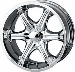 Detroit Wheels Assail Chrome