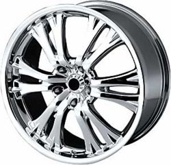 Detroit Wheels Klone Chrome