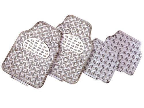 Alfombrillas de aluminio