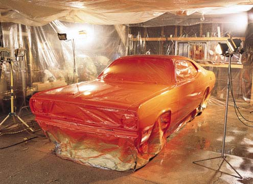 Como pintar tu coche en casa