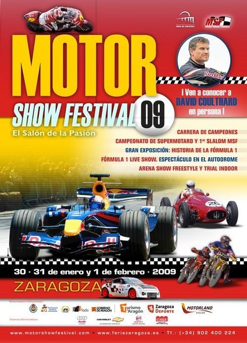 Cartel Motor Show Festival 2009 Zaragoza