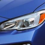 Subaru WRX 2015 faro delantero