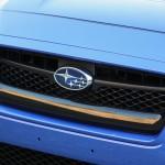 Subaru WRX 2015 rejilla con logo