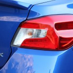 Subaru WRX 2015 faro trasero