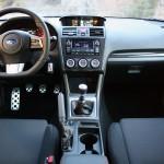 Subaru WRX 2015 interior