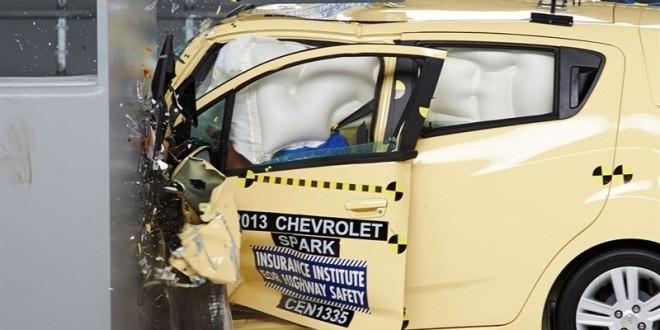 El 95 % de los vehículos pequeños no pasan las pruebas de choque americanas