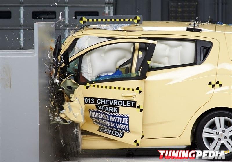 Chevrolet Spark, el ganador de las pruebas de choque del IIHS