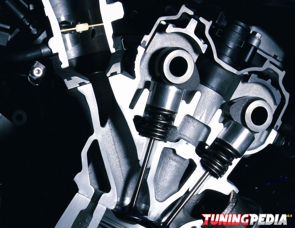 Funcionamiento de las válvulas del motor
