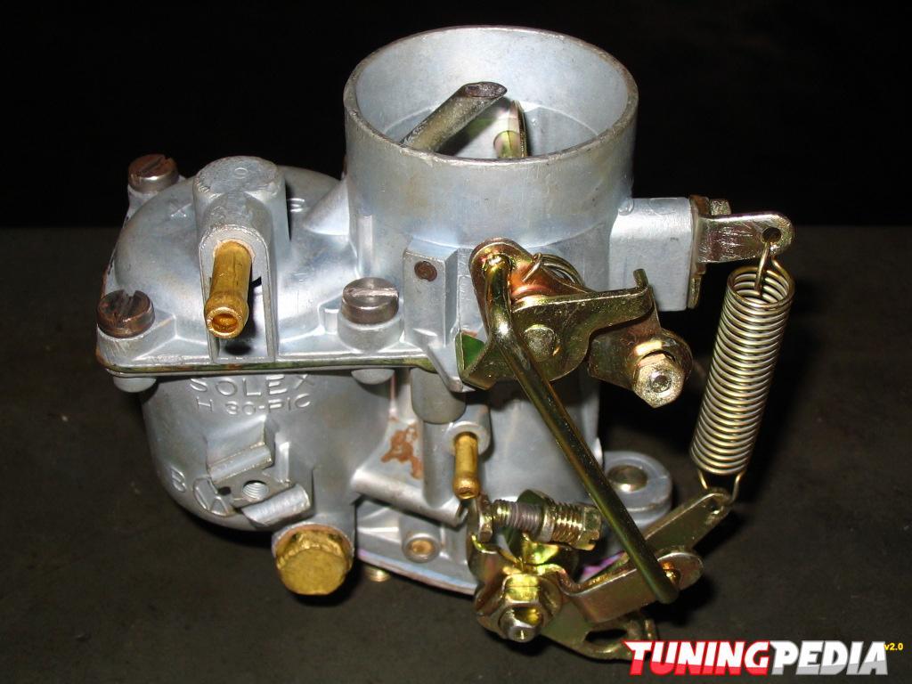Partes del carburador y su interior