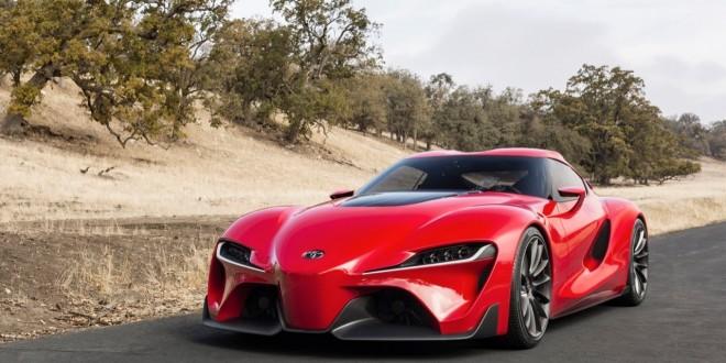 Toyota vino con su nuevo concepto del superdeportivo FT-1