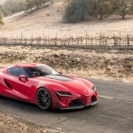 Toyota FT-1 concepto lateral derecho