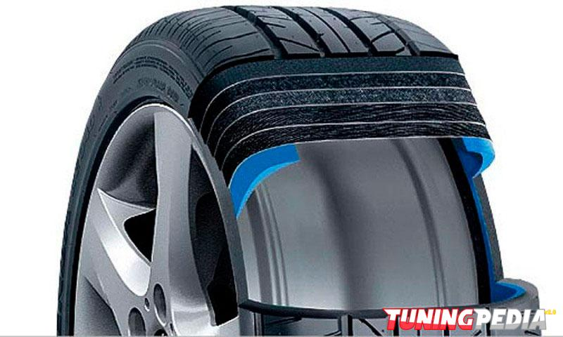 Estructura interna de los neumáticos
